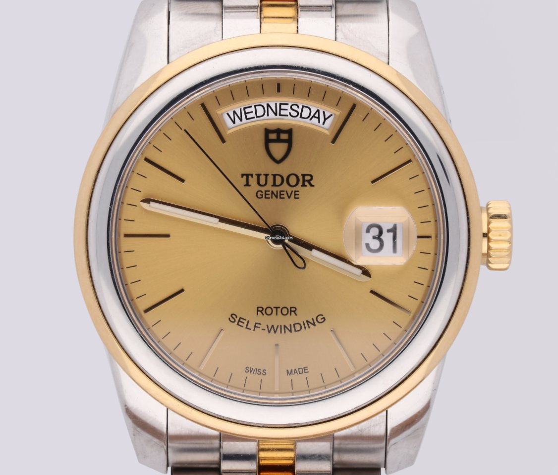 Tudor Glamour Date-Day 56003 2017 pre-owned