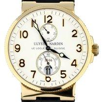 Ulysse Nardin Marine Chronometer 41mm Açık kırmızı altın 41mm Beyaz