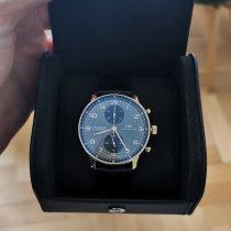 IWC Aur rosu Atomat Gri Arabic 40.9mm folosit Portuguese Chronograph