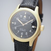 IWC Yellow gold Automatic 36mm pre-owned Pilot Mark