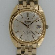 Omega Yellow gold Automatic Champagne pre-owned Constellation