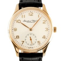 IWC Portuguese Automatic Yellow gold 35mm Silver