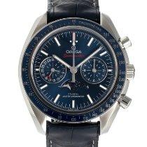 Omega Speedmaster Professional Moonwatch Moonphase Steel 44mm Blue