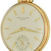 Patek Philippe Watch pre-owned Yellow gold 43mm No numerals Manual winding Watch only