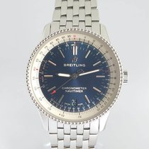 Breitling Steel 38mm Automatic A17325 pre-owned India, Mumbai,