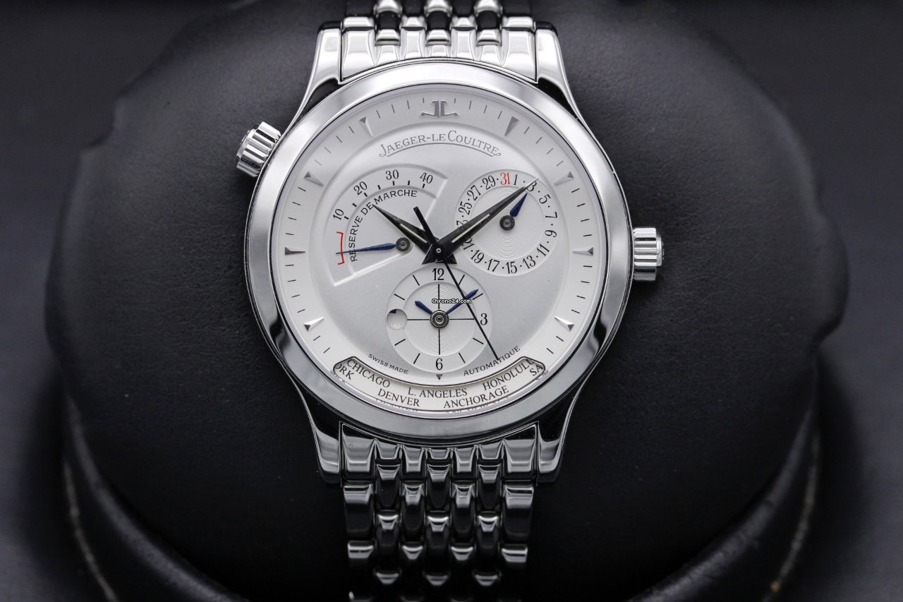 Jaeger-LeCoultre Master Geographic 142.8.92 2021 pre-owned