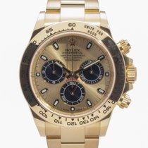 Rolex Daytona Yellow gold 40mm Gold No numerals United Kingdom, Radlett