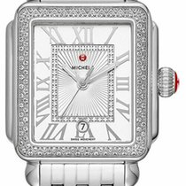 Michele Deco Steel 33mm Silver Roman numerals United States of America, New York, Monsey