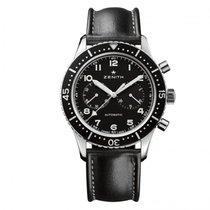 Zenith nieuw Automatisch Lichtgevende indexen Chronometer 43mm Staal Saffierglas