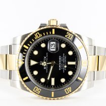 Rolex Submariner Date usados 40mm Negro Fecha Acero y oro
