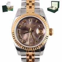 Rolex Lady-Datejust Gold/Steel 26mm Mother of pearl Roman numerals United States of America, New York, Smithtown