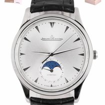Jaeger-LeCoultre Master Ultra Thin Moon Steel 39mm Silver United States of America, New York, Smithtown