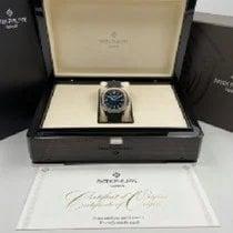 Patek Philippe White gold Automatic Blue Arabic numerals 42.2mm new Aquanaut