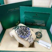 Rolex GMT-Master II новые 2021 Автоподзавод Часы с оригинальными документами и коробкой 126710BLNR