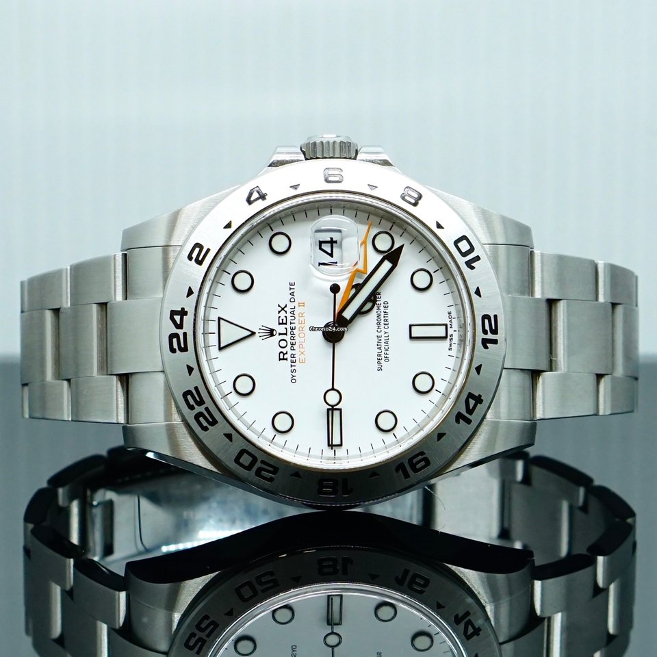 Rolex Explorer II 216570 2021 pre-owned