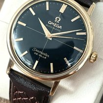 Omega Rose gold Automatic 34mm pre-owned Seamaster DeVille