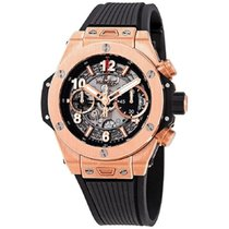Hublot Big Bang Unico new Automatic Chronograph Watch with original box and original papers 441.OX.1180.RX