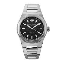 Girard Perregaux Laureato Steel 42mm Black No numerals United States of America, New York, New York