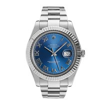 Rolex Datejust II Steel 41mm Blue Roman numerals United States of America, New York, New York