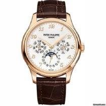 Patek Philippe Perpetual Calendar Or rose 39mm Blanc Arabes
