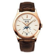 Patek Philippe Annual Calendar Rose gold 38mm Silver No numerals United States of America, New York, New York
