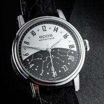 에포스 중고시계 자동 41mm 검정색 사파이어 글라스