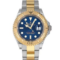 Rolex Yacht-Master 40 Gold/Steel 40mm Blue No numerals United States of America, Maryland, Baltimore, MD