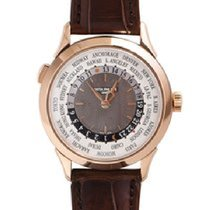Patek Philippe Rose gold Automatic Grey Arabic numerals 38.5mm new World Time