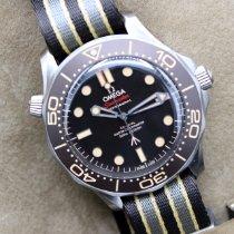 Omega Seamaster Diver 300 M 210.92.42.20.01.001 Novo Titânio 42mm Automático