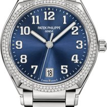 Patek Philippe Twenty~4 Steel 36mm Blue Arabic numerals United States of America, New York, New York
