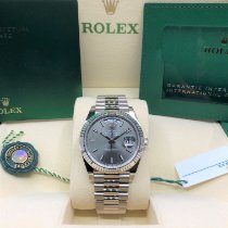Rolex Day-Date 40 White gold 40mm Grey No numerals United States of America, Illinois, Springfield
