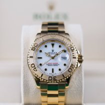 Rolex Yacht-Master Yellow gold 40mm White No numerals Indonesia