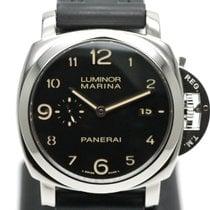 Panerai Luminor Marina 1950 3 Days Automatic Сталь 44mm Черный