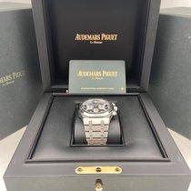 Audemars Piguet Royal Oak Chronograph Steel 41mm Blue No numerals United States of America, New York, New York