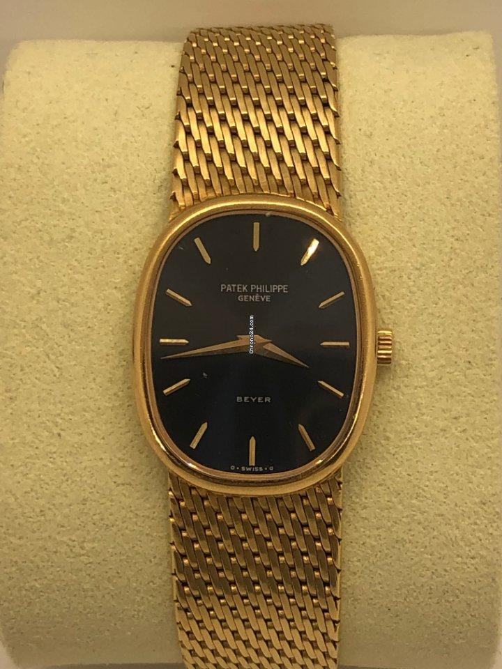 Patek Philippe Golden Ellipse 3738 1980 pre-owned