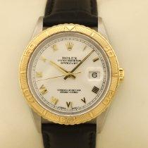 Rolex Datejust Turn-O-Graph Gold/Stahl 36mm Weiß Römisch Deutschland, MÜNCHEN