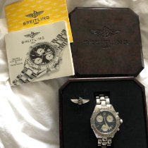 Breitling Colt Chronograph Steel 38mm Black No numerals United States of America, New York, Brooklyn