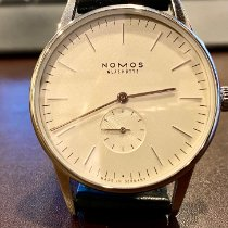 NOMOS Orion 38 Steel 38mm White No numerals United States of America, Connecticut, Fairfield