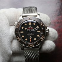 Omega Seamaster Diver 300 M new 2021 Automatic Watch with original box and original papers 210.90.42.20.01.001