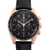 Omega 310.63.42.50.01.001 Roségoud 2021 Speedmaster Professional Moonwatch 42mm nieuw
