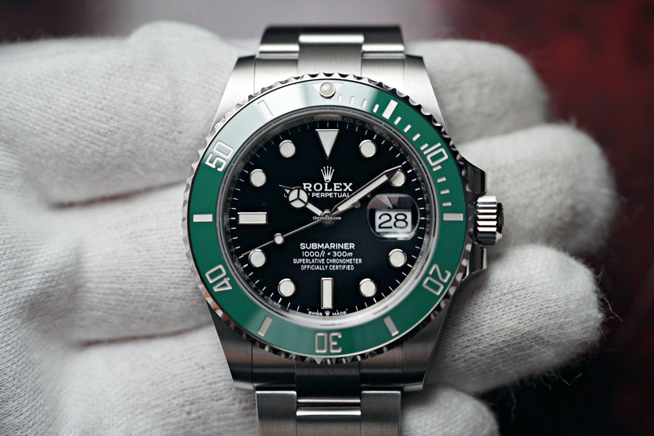 Rolex Submariner Date 126610lv Starbucks 2021 новые