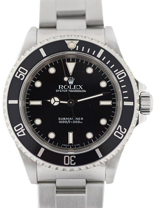 Rolex Submariner (No Date) 14060 подержанные