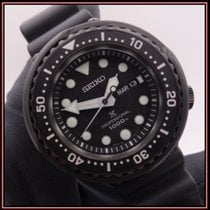 Seiko Marinemaster подержанные 49,4mm Черный Дата Индикатор дней недели Каучук