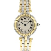 Cartier Panthère Goud/Staal 24mm Champagne Romeins Nederland, Maastricht