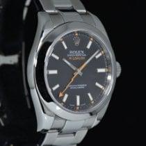 Rolex 116400 Staal 2008 Milgauss 40mm tweedehands