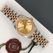 Rolex Lady-Datejust 68273 Meget god Guld/Stål 31mm Automatisk