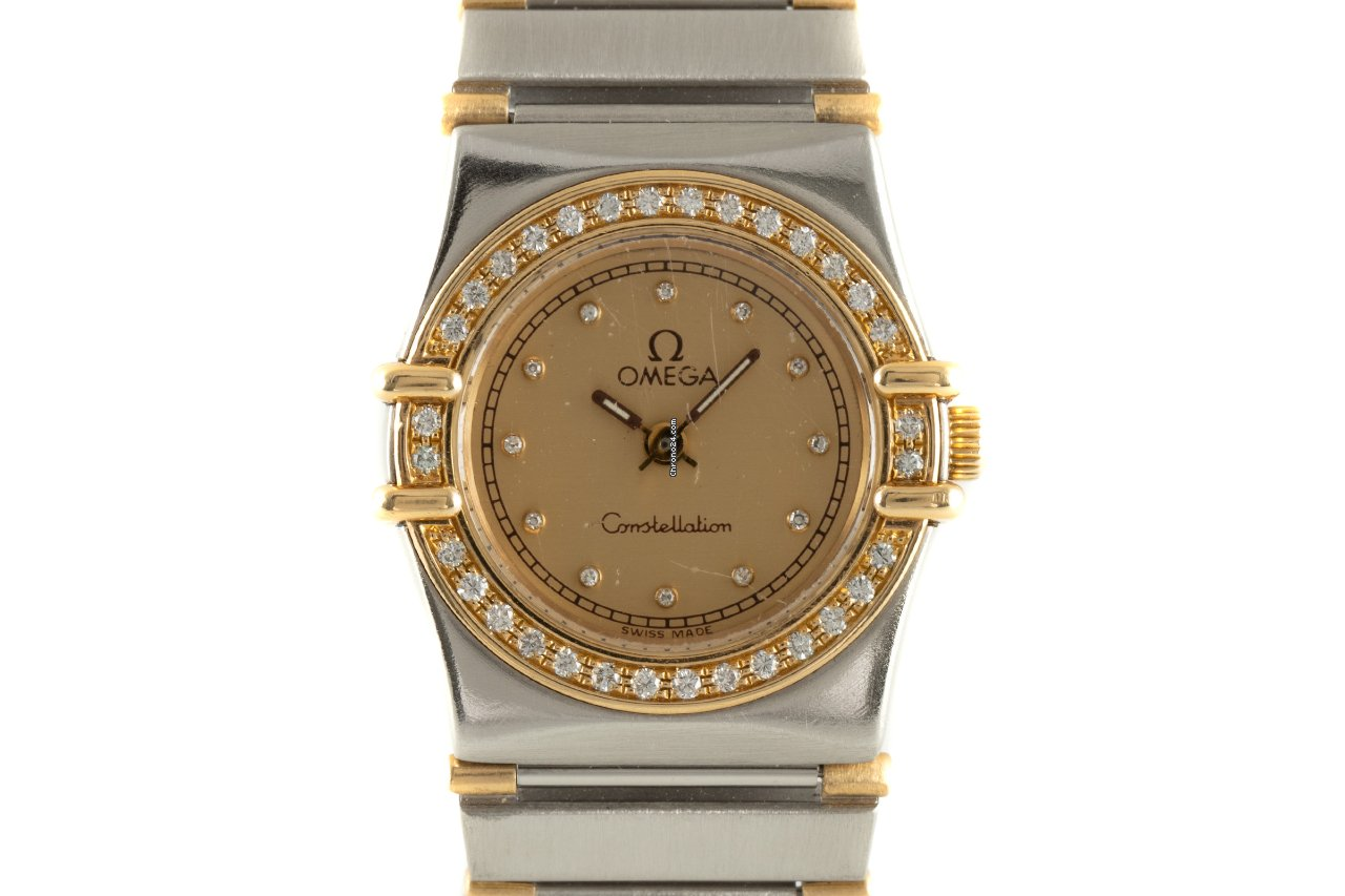 Omega Constellation Ladies 895.1080 1990 pre-owned