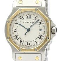 Cartier Santos (submodel) Ouro/Aço 29mm Prata