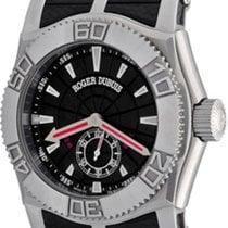 Roger Dubuis Easy Diver Otel 46mm Negru Fara cifre