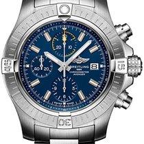 Breitling Avenger новые 2020 Автоподзавод Хронограф Часы с оригинальными документами и коробкой A13317101C1A1